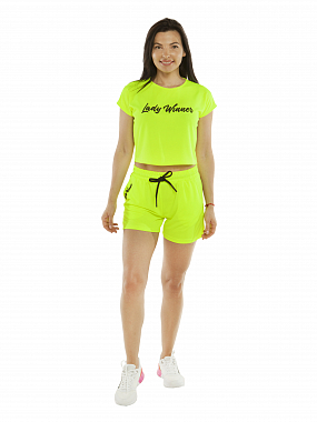 Шорты Lady WINNER neon lime